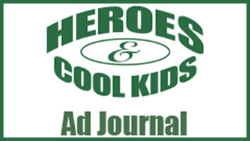 Heroes and Cool Kids Ad Journal